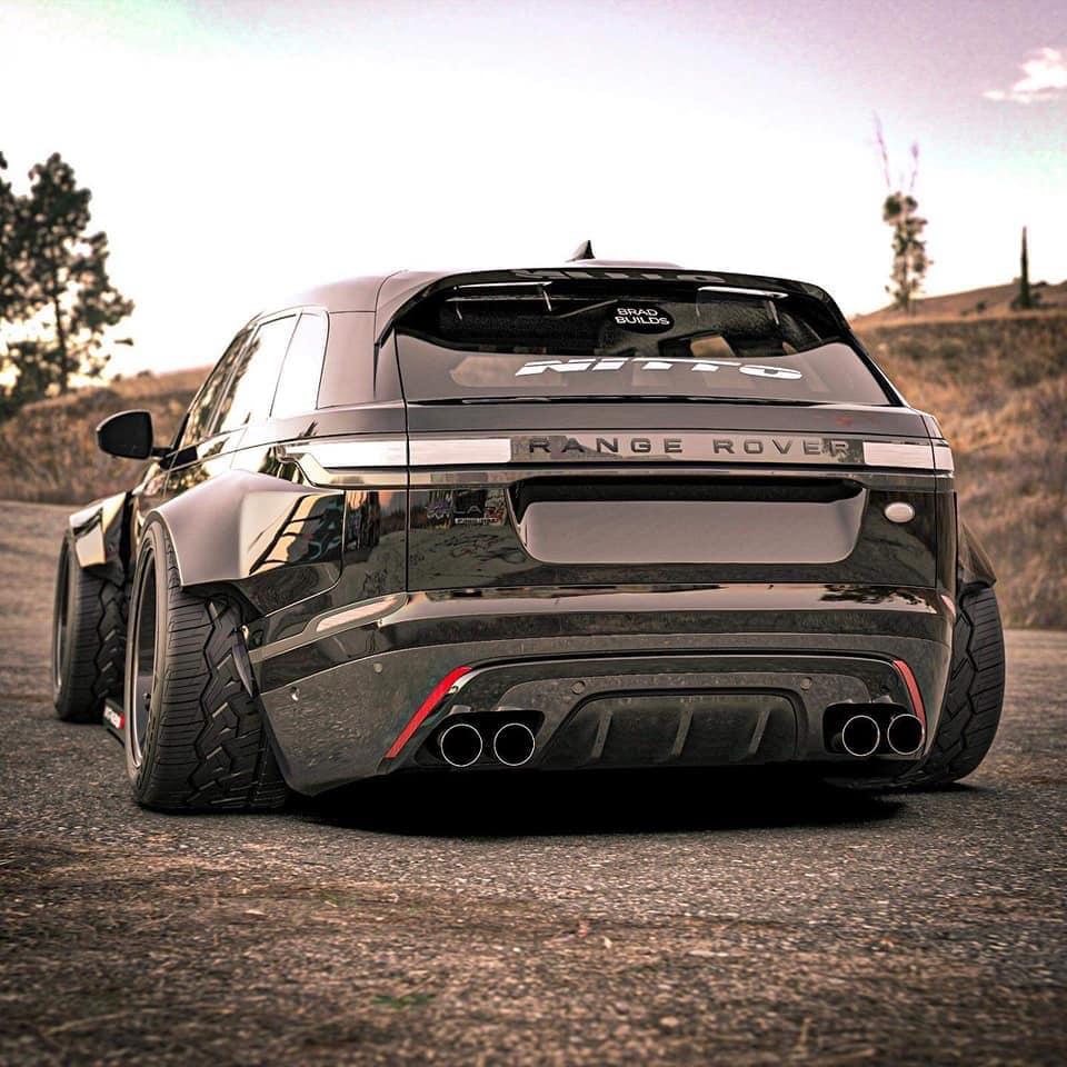 Modified Range Rover Sport